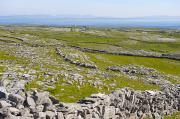 Aran Islands Framed Prints - Irish Stone Wall Near The Hill Fort Framed Print by Keenpress