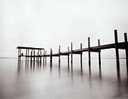 Beach Photograph Photo Originals - IRL Pier by Patrick M Lynch