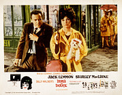 Luggage Framed Prints - Irma La Douce, Jack Lemmon, Shirley Framed Print by Everett