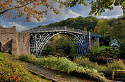 Iron  Prints - Iron Bridge Print by Gail Johnson