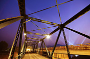Asia Photo Metal Prints - Iron Bridge  Metal Print by Setsiri Silapasuwanchai