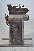 Israel Sculptures - Iron Inclination 5 by Avraham Palgi