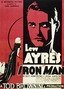 Harlow Framed Prints - Iron Man, Jean Harlow, Lew Ayres, 1931 Framed Print by Everett