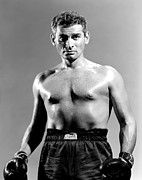 Boxer Photo Framed Prints - Iron Man, Jeff Chandler, 1951 Framed Print by Everett