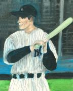 Baseball Paintings - Iron Man by Jorge Delara
