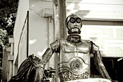 Iron  Sculpture Metal Prints - Iron man Metal Print by Yurix Sardinelly