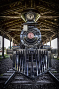 Caboose Digital Art Posters - Iron Range Railroad Company Train Poster by Bill Tiepelman