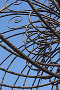 Iron  Photo Prints - Iron Work Print by Tony Cordoza