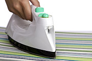 Clothes Clothing Posters - Ironing Poster by Blink Images