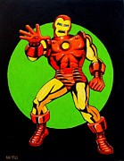 Ironman Paintings - Ironman by George Bryan Ward