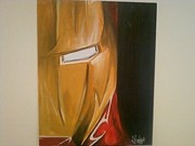 Ironman Paintings - Ironman by Jake Malone