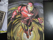 Ironman Mixed Media - Ironman by Tom Russick