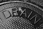 Drain Art - Irony by Luke Moore