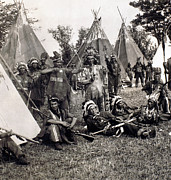 Quebec Art - IROQUOIS, c1900 by Granger