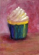 Cupcake Art Prints - Irresistible Print by Jeannine Luke