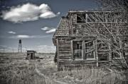 Old House Photo Originals - Is it October yet by James Steele