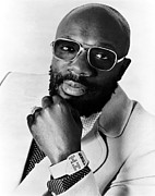 Singer Songwriter Photos - Isaac Hayes, 1976 by Everett
