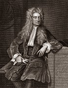 Gravitation Posters - Isaac Newton, English Physicist Poster by Middle Temple Library