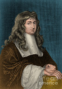 Analyze Prints - Isaac Newton, English Polymath Print by Photo Researchers, Inc.