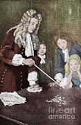 Knighted Posters - Isaac Newton, English Polymath Poster by Science Source