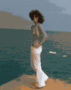 Impressionism Digital Art - Isabella by Gerlinde Keating - Keating Associates Inc