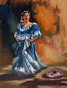 Senorita Art - Isabella by J P Childress