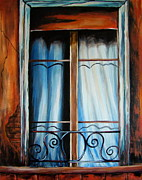 Susan Bergstrom Art - Isabels Window by Susan Bergstrom