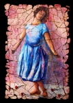 Training Mixed Media Prints - Isadora Duncan - 2 Print by OLena Art
