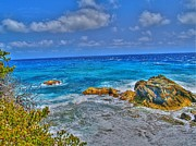 Shinny Prints - Isla Mujeres III Print by Jimmy Ostgard