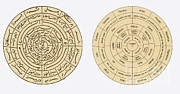 Allah Photos - Islamic Cosmographical Diagram by Science Source