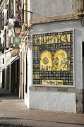 Ceramic Tile Prints - Islamic Pharmacy Ceramic Tiles, Spain Print by Sheila Terry