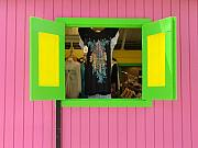 Folk Art Photos - Island Boutique Flirt by Richard Mansfield