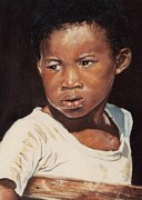 Artwork Pastels - Island Boy by John Clark