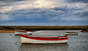 Norfolk; Prints - Island Ferry Print by Chris Thaxter