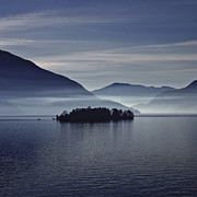 Morning Mist Photos - Island In Morning Mist by Joana Kruse
