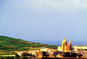 Gozo Acrylic Prints - Island of Gozo Acrylic Print by Thomas R Fletcher