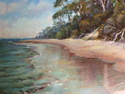 Reflective Pastels - Island Sands by Pamela Pretty
