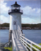 Haut Framed Prints - Isle Au Haut Lighthouse Framed Print by Todd Baxter