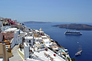 Greek Originals - Isle Of Santorini by Terence Davis