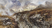 High Altitude Prints - Isle of Skye Print by Keeley Halswelle