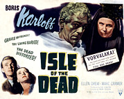 Posth Photos - Isle Of The Dead, Boris Karloff, Marc by Everett