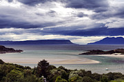 Drama Photographs Prints - Isles of Eigg and Rum Print by Jason Politte