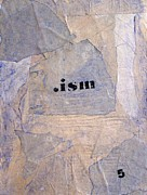 Industrial Mixed Media Prints - .ism Print by Iain Barnes