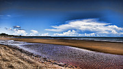 Dundee Photos - Isolated Beach  by Douglas Barnard
