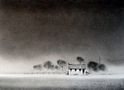 Quaint Drawings - Isolation by Mark Lockwood
