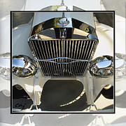 Kirkland Prints - Isotta Fraschini Grill Print by Curt Johnson