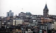 Istanbul Buildings Print by John Rizzuto