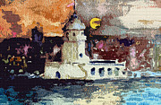 Prostitution Prints - Istanbul Constantinople Print by Mindy Newman