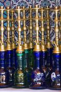 Hookah Prints - Istanbul, Turkey Nargileh Water Pipes Print by Carson Ganci