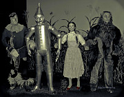 Wizard Of Oz Photos - It Began in the Plains of Kansas by DigiArt Diaries by Vicky Browning